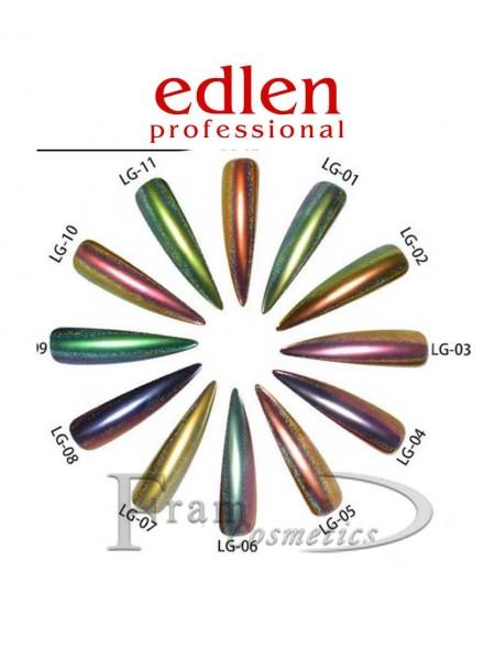Втирка для ногтей Edlen - Хвост павлина