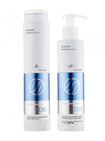 Набор для седых и осветленных волос Erayba D52/D56
