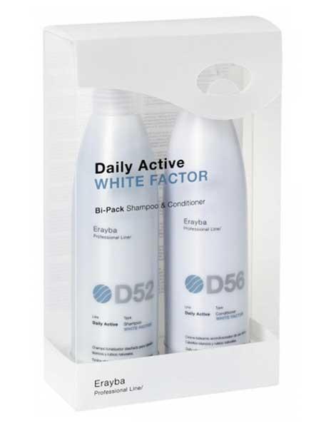 Набор для осветленных волос Erayba White Factor D52/D56