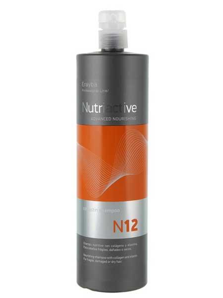 Шампунь питательный Erayba Nutriactive N12 1L
