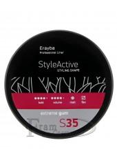 Паста моделирующая для волос Erayba S35 Extreme Gum