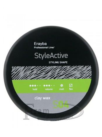 Моделирующий воск средней фиксации Erayba S04 Style Active
