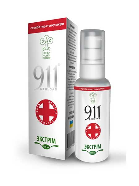 Бальзам 911 экстрим Green Pharm Cosmetic 100ml