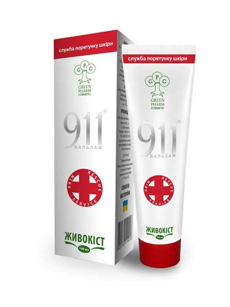 Бальзам 911 живокост Green Pharm Cosmetic 100ml