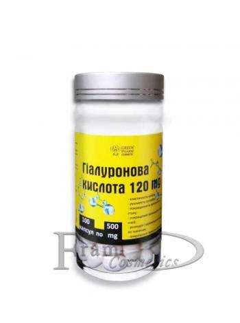 Добавка диетическая гиалуроновая кислота Green Pharm Cosmetic