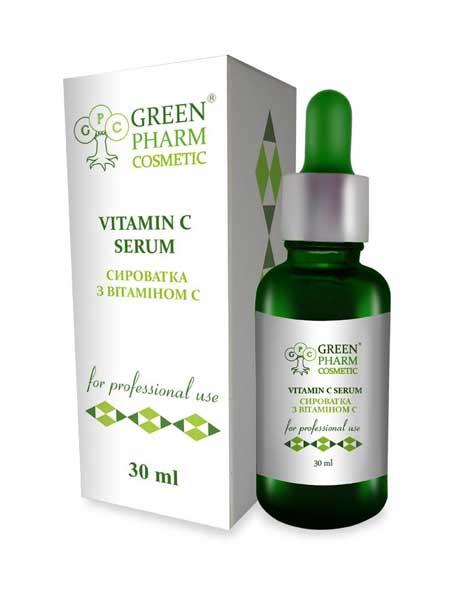 Сыворотка с витамином C Green Pharm Cosmetic 250ml