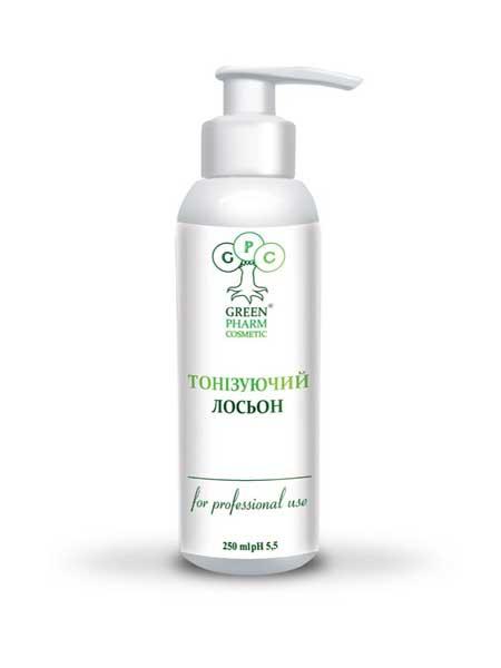 Лосьон тонизирующий для лица Green Pharm Cosmetic