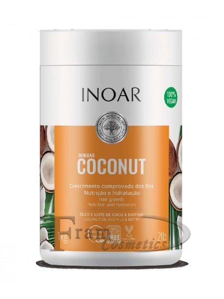 Безсульфатная маска Кокос Inoar, Bombar coconut