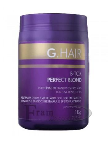 Ботокс для блондинок Inoar G Hair B-tox Perfect Blond