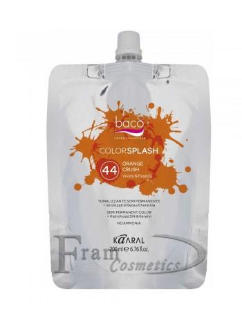 Прямое окрашивание Kaaral Colorsplash Orange
