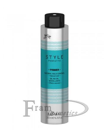 Моделирующее сухое масло для волос Kaaral Style Perfetto Primer