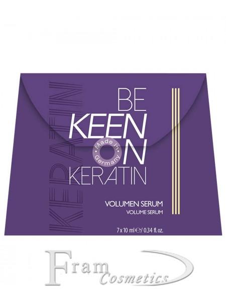 Сыворотка Keen Keratin для объема волос