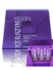 Кератиновая сыворотка Keen для выпрямления волос 7x10ml
