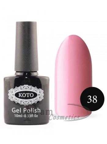 Однофазный гель лак Кoto 38 амарантово розовый