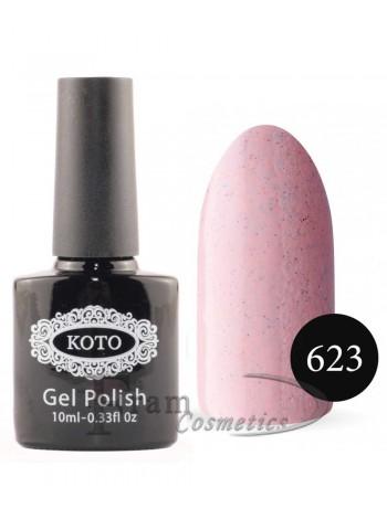 Песочный гель-лак Koto 623 нежно розовый