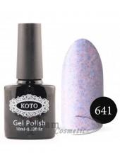 Песочный гель-лак KOTO 641 светло фиолетовый