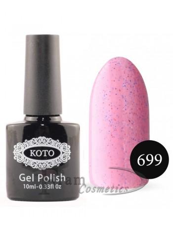Песочный гель-лак KOTO 699 насыщенный розовый