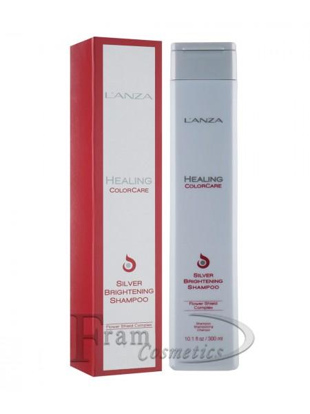 Шампунь серебристый для яркости цвета волос Lanza Color-Silver