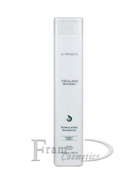 Стимулирующий шампунь для роста волос Lanza Nourish