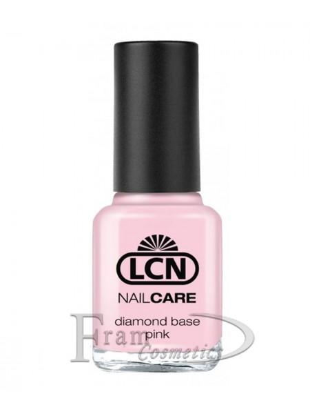 Специальный лак с алмазной крошкой для укрепления ногтей LCN (розовый)