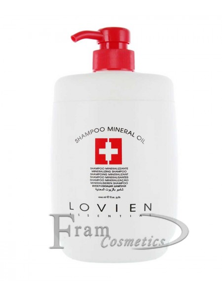 Шампунь для поврежденных волос с минеральным маслом Lovien Essential