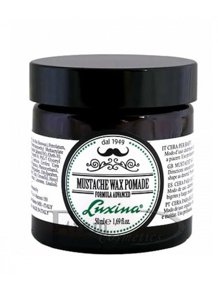 Воск для усов с длительной фиксацией Luxina Mustache Wax Pomade Strong