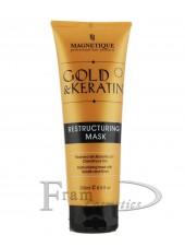 Восстанавливающая Маска Magnetique Gold & Keratin 1000ml