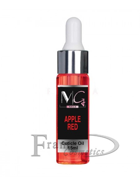 Масло для кутикулы MG cuticule oil apple red