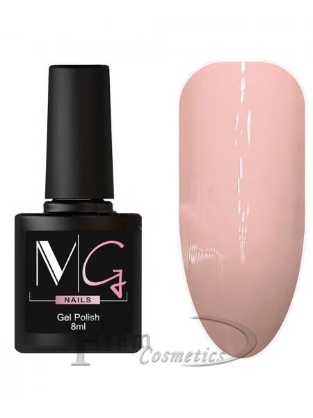Гель-лак MG 009 пастельный-розовый