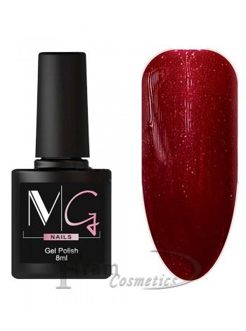 Гель-лак MG 071 красно коричневый