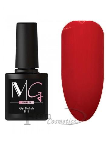 Гель-лак MG 073 насыщенно красный