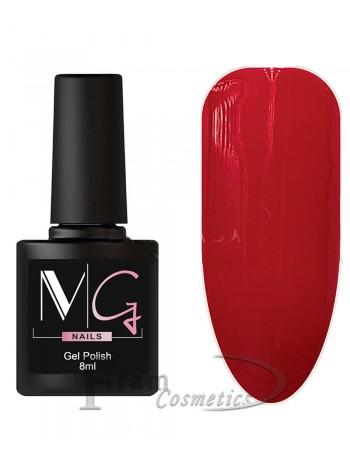 Гель-лак MG 076 красная фуксия