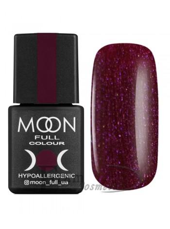 Гель-лак Moon №141 Color Gel polish очень темный красный