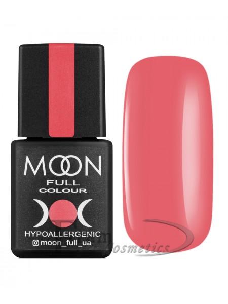 Гель-лак Moon №114 Color Gel polish светлый карминово-розовый
