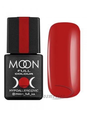 Гель-лак Moon №127 Color Gel polish сигнальный красный