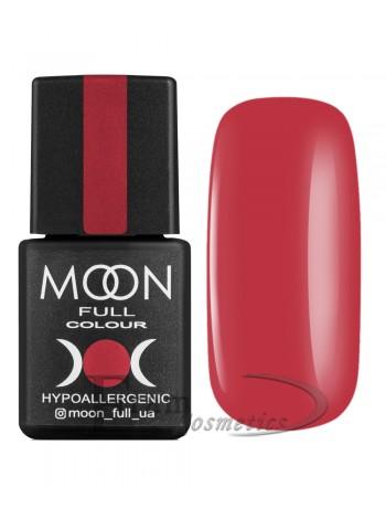 Гель-лак Moon №131 Color Gel polish умеренный красный