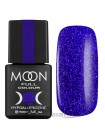 Гель-лак Moon №173 Color Gel polish синий в крапенку