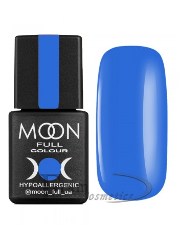 Гель-лак Moon №182 Color Gel polish светлый джинсовый