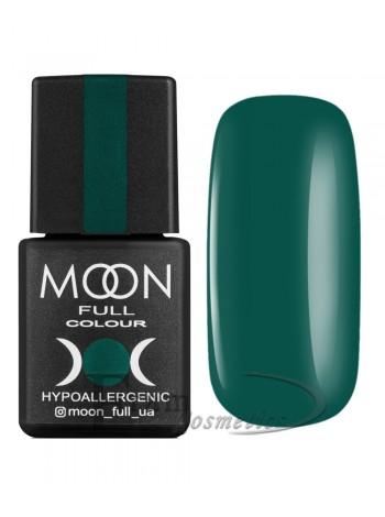 Гель-лак Moon №185 Color Gel polish темно-бирюзовый