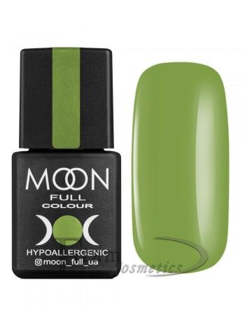 Гель-лак Moon №215 Color Gel polish умеренный желто-зеленый