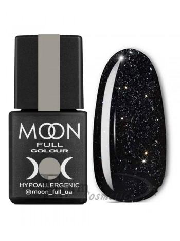 Гель-лак Moon №319 Color Gel polish черный с глитером