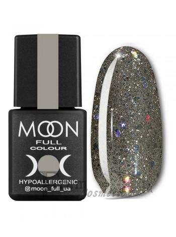 Гель-лак Moon №324 Color Gel polish зеленовато-серый с блеском