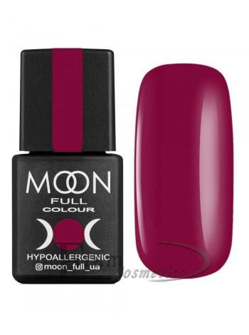 Гель-лак Moon №143 Color Gel polish глубокий пурпурно-красный