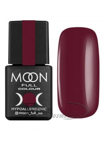 Гель-лак Moon №144 Color Gel polish темный красный