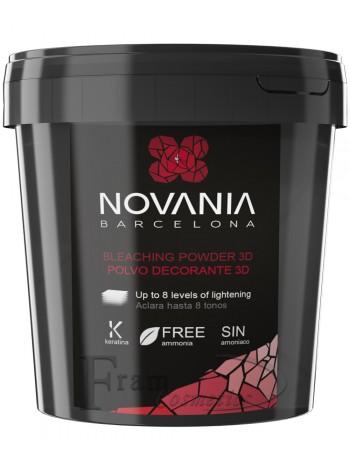 Обесцвечивающий безаммиачный порошок Novania 3D