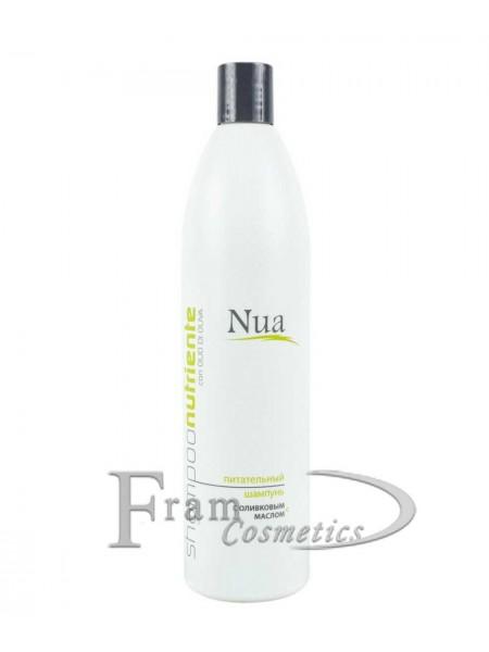 Шампунь питательный с маслом оливы Nua