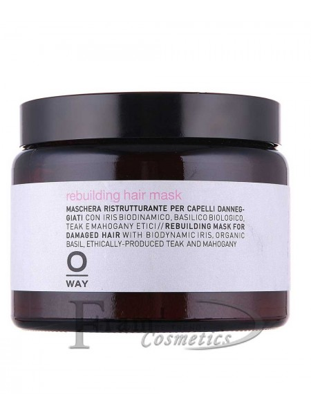 Маска Rebuilding Rolland Oway для реконструкции волос