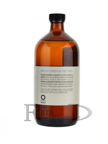 Шампунь Oway Rebalancing для нормализации жирной кожи головы и волос