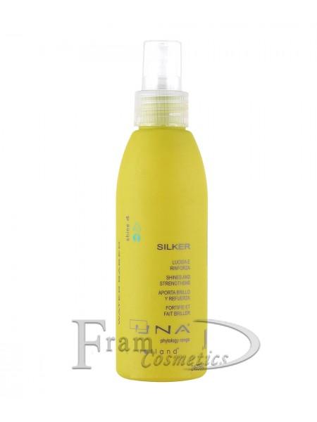 Средство для восстановления и блеска волос Rolland Una Silker